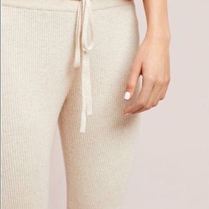 Anthropologie Pants - Ribbed Sweater Leggings